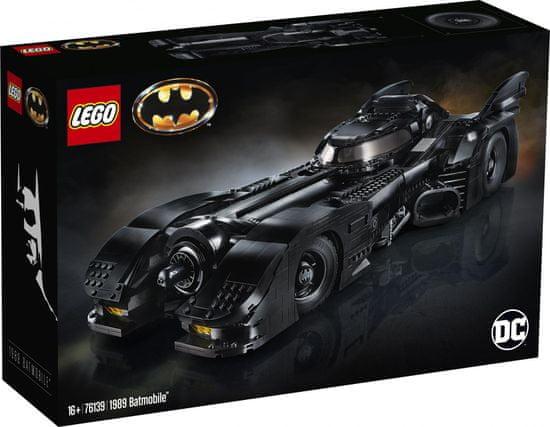 LEGO Super Heroes 76139 Batmobil - Odprta embalaža