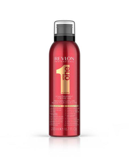 Revlon UniqOne Fine Hair Foam Mask, 200 ml