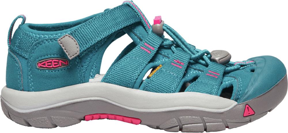 KEEN dívčí sandály Newport H2 Jr. 1020362 37 tyrkysová