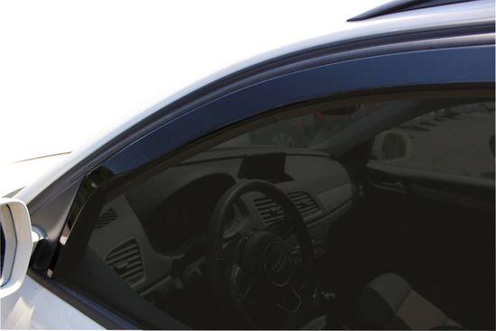 Team Heko Okenné deflektory Audi Q3 5D 2011-vyššie 4 ks predne+zadne