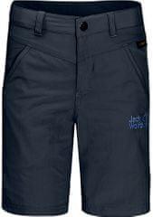 Jack Wolfskin Sun Shorts K otroške kratke hlače, 116, temno modre