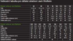 Jack Wolfskin Sun Shorts K fantovske kratke hlače, 116, modre