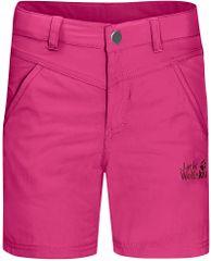 Jack Wolfskin lány rövidnadrág SUN SHORTS K, 128, rózsaszín