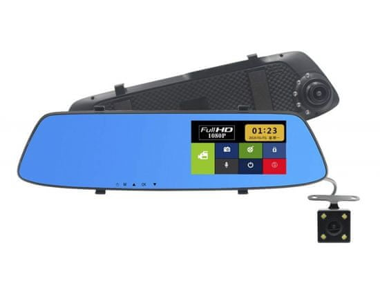 Cappa Auto kamera DVR HD Touch Dual