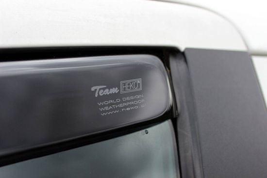 Team Heko Okenné deflektory Fiat Punto Grande 3D 2006-vyššie 2 ks predne