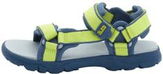 Jack Wolfskin dětské sandály Seven Seas 3 K 34 zelená