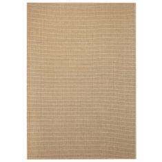shumee bézs, szizál hatású beltéri/kültéri szőnyeg 160 x 230 cm