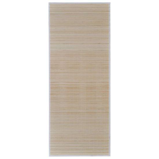 shumee Pravokotna Preproga iz Naravnega Bambusa 150 x 200 cm