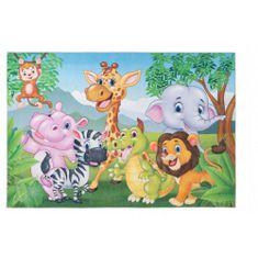 Jutex Detský koberec Torino Kids jungle 1.20 x 0.80