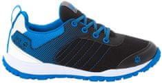 Jack Wolfskin Cascade Low K gyermek sportcipő, 39, fekete/kék