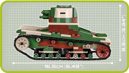 Cobi 2520 Small Army II WW Vickers Mk E Type B tank