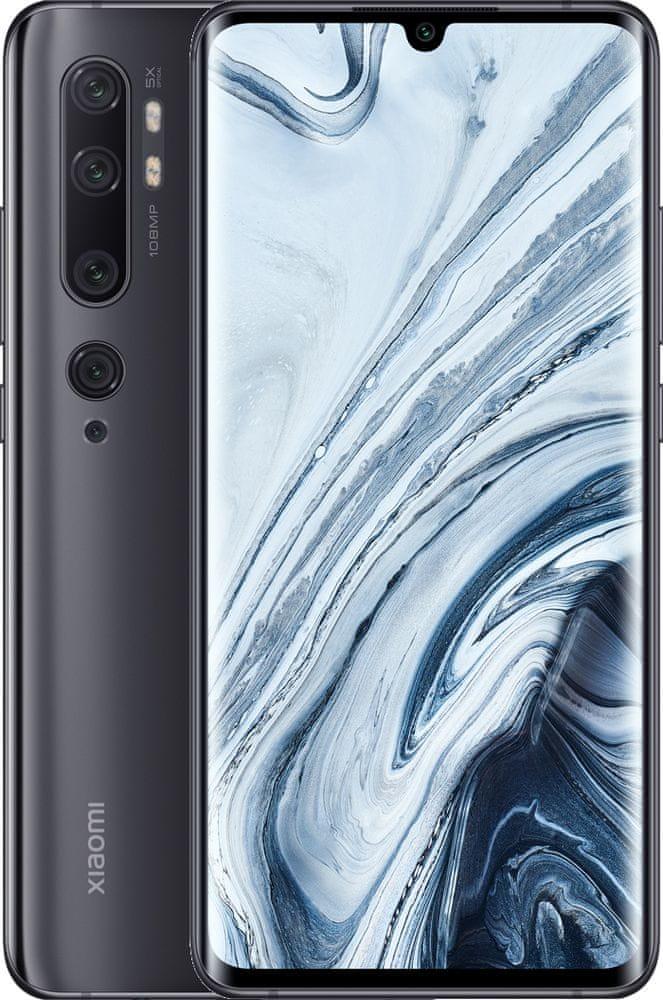 Xiaomi Mi Note 10, 6GB/128GB, Midnight Black - rozbaleno