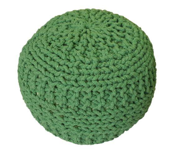 Kudos Textiles MEGA AKCE: Sedací vak TEA POUF 14 zelený
