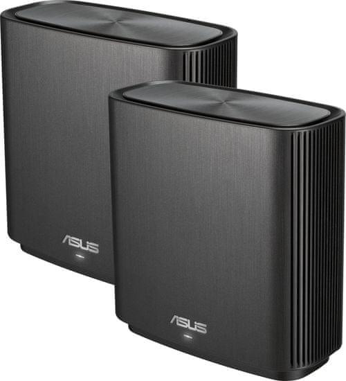 Asus ZenWiFi CT8, Tri-Band, AC3000 2x brezžični Wi-Fi usmerjevalnik, črn