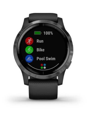 Garmin Vivoactive 4 pametna ura, črna - Odprta embalaža