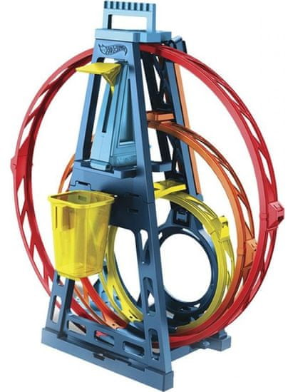 Hot Wheels rollercoster Track Builder