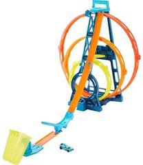 Hot Wheels Track Builder Trojitá slučka