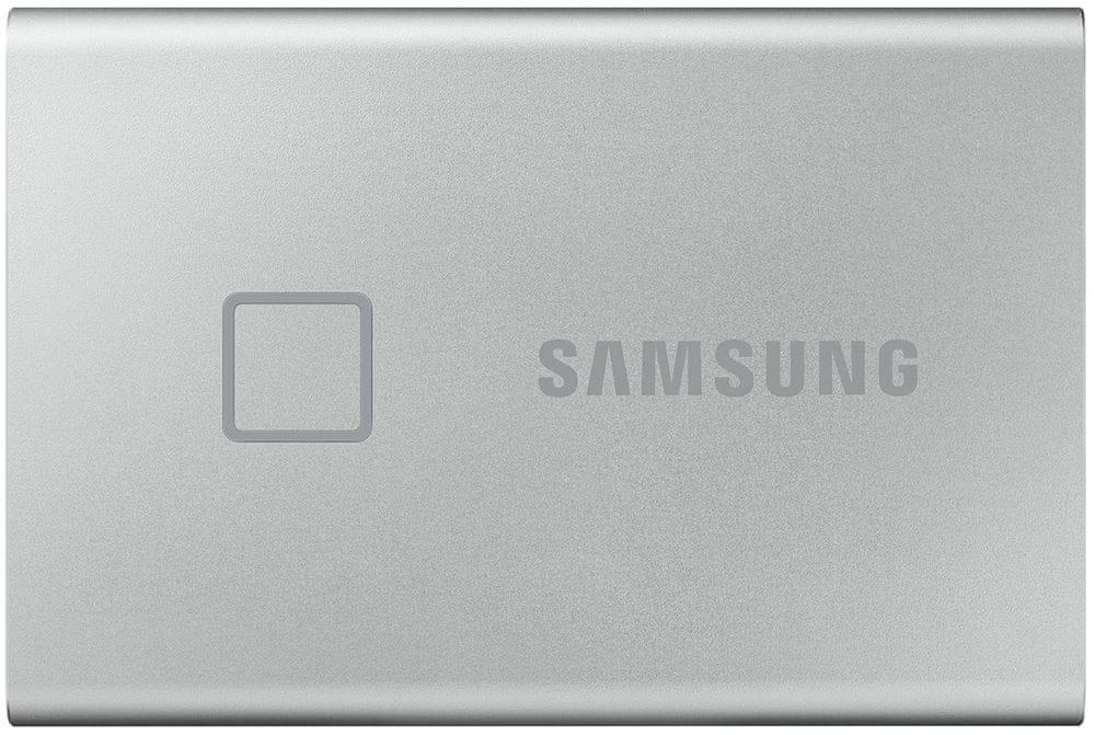 Samsung T7 Touch SSD 500GB, stříbrná (MU-PC500S/WW)