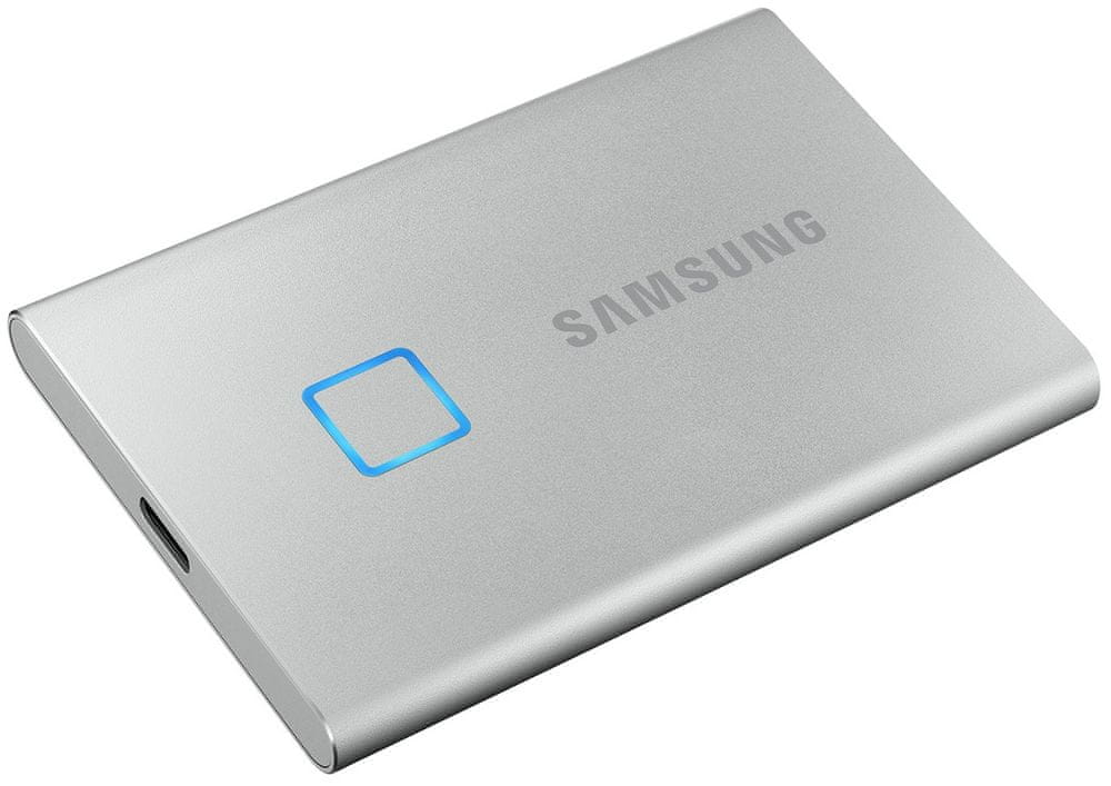 Samsung T7 Touch SSD 2TB, stříbrná (MU-PC2T0S/WW)