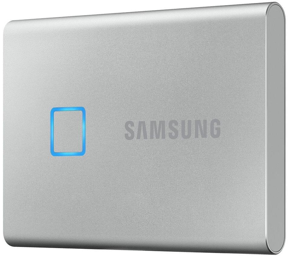 Samsung T7 Touch SSD 1TB, stříbrná (MU-PC1T0S/WW)