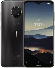 Nokia 7.2 mobilni telefon, 6GB/128GB, Charcoal - Odprta embalaža