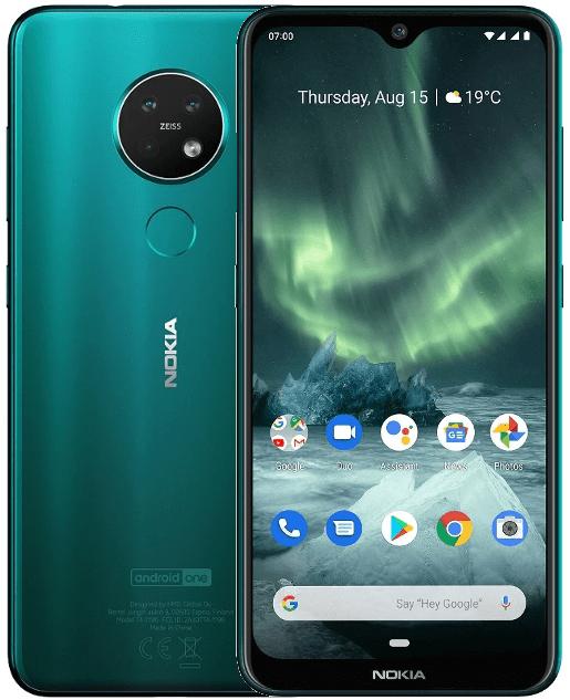 Nokia 7.2, 6GB/128GB, Green