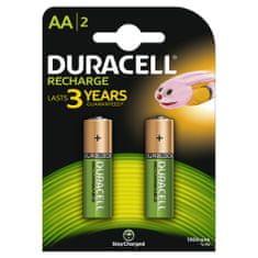 Duracell polnilna baterija 1300 mAh, AA, 2 kosa