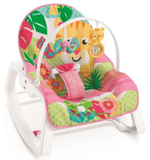 Fisher-Price Fotelik niemowlęcy różowy