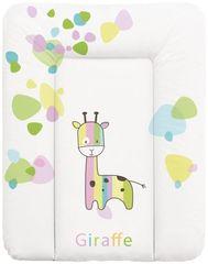Ceba Baby Prebaľovacia podložka na komodu mäkká 50 x 70 cm - Žirafa