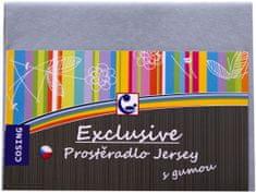 COSING posteljnina Jersey, 120x60 cm, siva