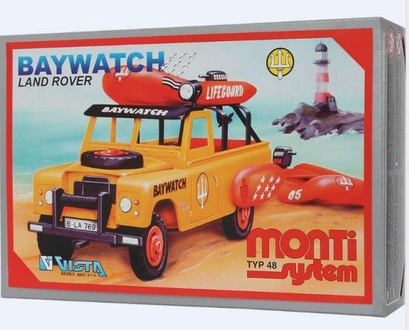 VISTA Stavebnice Monti 48 Baywatch Land Rover