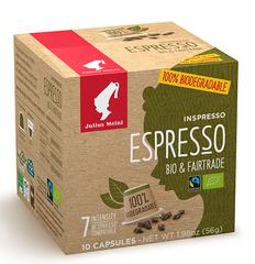 Julius Meinl Kompostovateľné kapsule Inspresso Bio & Fairtrade 10 ks