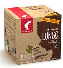 Julius Meinl Kompostovateľné kapsule Inspresso Lungo Fairtrade 10 ks