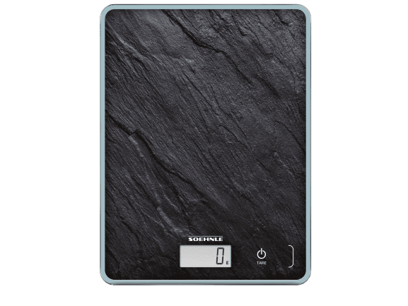 Soehnle Digitální kuchyňská váha Page Compact 300 - motiv břidlice - zánovní