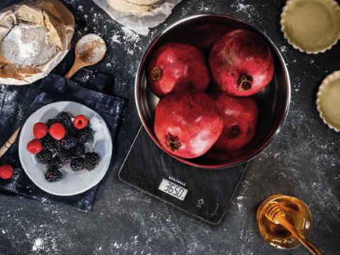 Soehnle Digitální kuchyňská váha Page Compact 300 - motiv břidlice