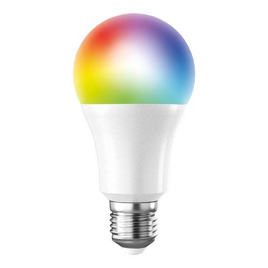 Solight LED SMART WIFI žárovka, klasický tvar, 10 W, E27, RGB, 270 °, 900 lm