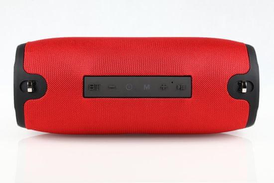Manta SPK15GO Bluetooth zvočnik, IPX4, 20 W, rdeč