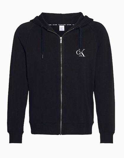 Calvin Klein Férfi felsőCK One Full Zip Hoodie NM1865E-001 Black