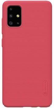 Nillkin Super Frosted Zadní Kryt pro Samsung Galaxy A71, Red 2450397