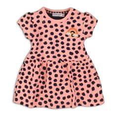 Dirkje dekliška obleka Neon, 56, oranžna