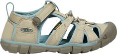 KEEN dětské sandály Seacamp II CNX K 1022981 24 béžová