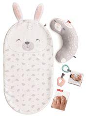 Fisher-Price kocyk masujący Baby Bunny