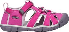 KEEN dívčí sandály Seacamp II CNX K 1022979 24 růžová