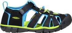 KEEN juniorské sandály Seacamp II CNX Jr. 1022984 34 černá