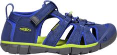 KEEN juniorské sandály Seacamp II CNX Jr. 1022993 34 modrá