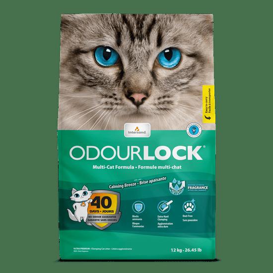 Intersand podstielka Odour Lock svieža vôňa 12 kg