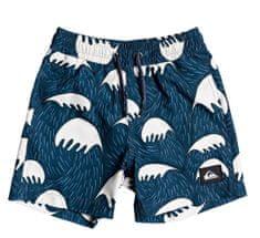 Quiksilver Jawsvly12 fantovske kopalne hlače, modre, za 4 leta