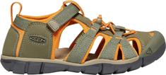 KEEN juniorské sandály Seacamp II CNX Jr. 1022998 36 zelená