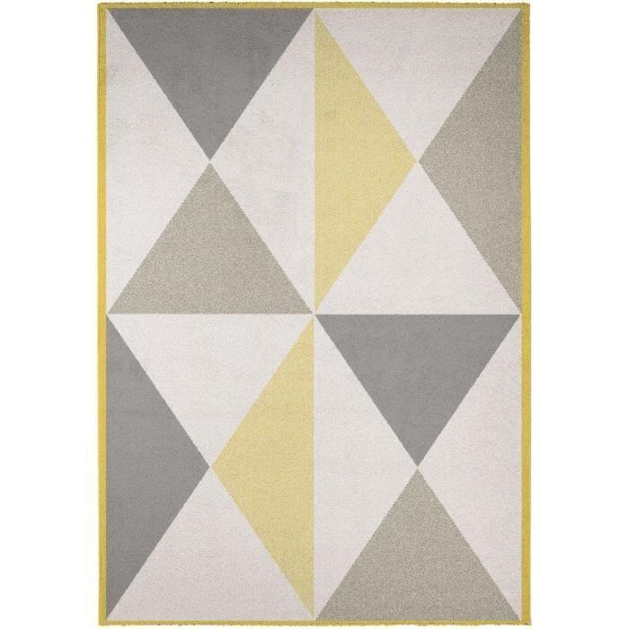 Cdiscount koberec, 120x170 cm - žlutá