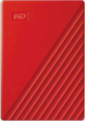 Western Digital My Passport 2 TB prenosni disk, rdeč
